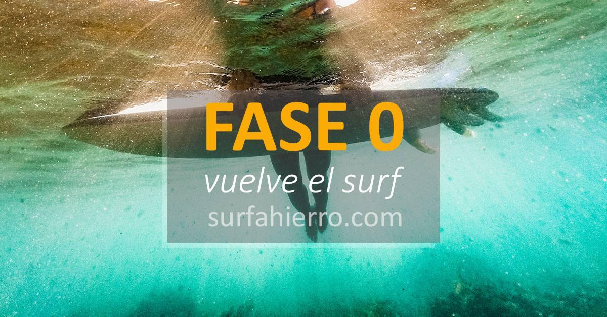 Imagen de Fase 0, vuelta al surfing | Surf AHIERRO!