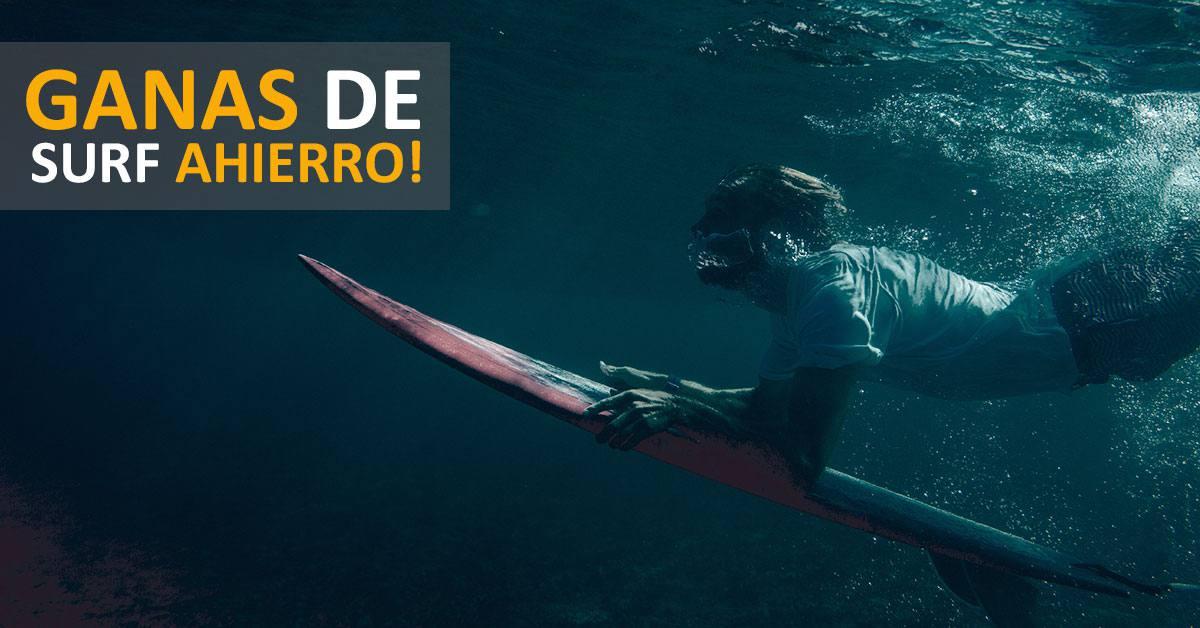 Imagen de ¿Cuándo puedo surfear? | Surf AHIERRO!