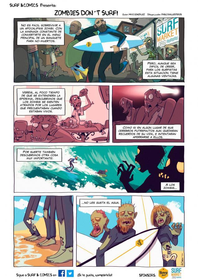 Imagen de Zombies don't surf! | Surf AHIERRO!