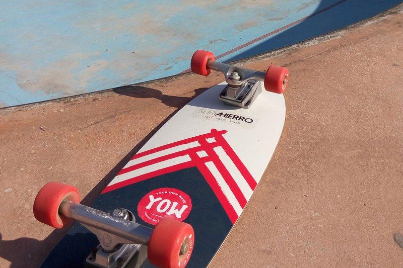 Surfskate YOW en surfahierro