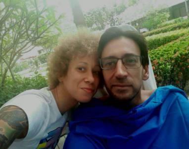 Victor y María en Singapur