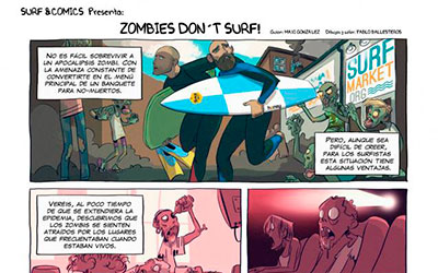 Zombies don't surf! - Surf AHIERRO!