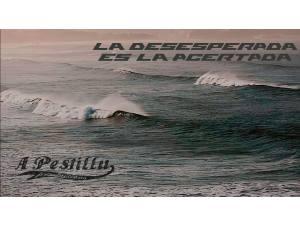 Imagen: La desesperada es la acertada | Surf AHIERRO!