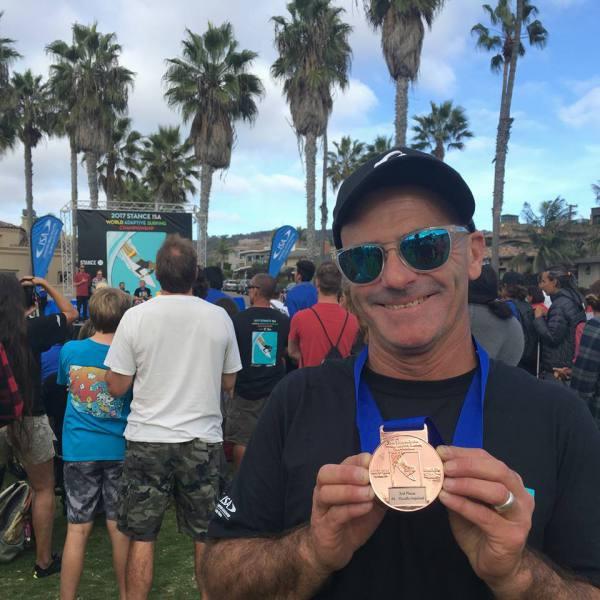 Imagen de Gallo consigue el bronce en los ISA Worlds Adaptados | Surf AHIERRO!