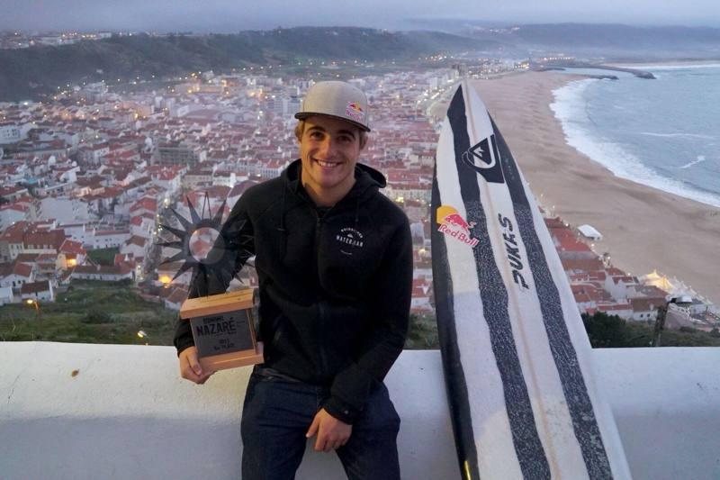 Imagen de Natxo González tercero en Nazaré   Surf AHIERRO!
