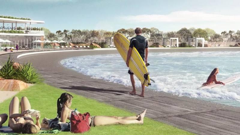 Imagen de A la piscina de Kelly le ha salido un competidor | Surf AHIERRO!