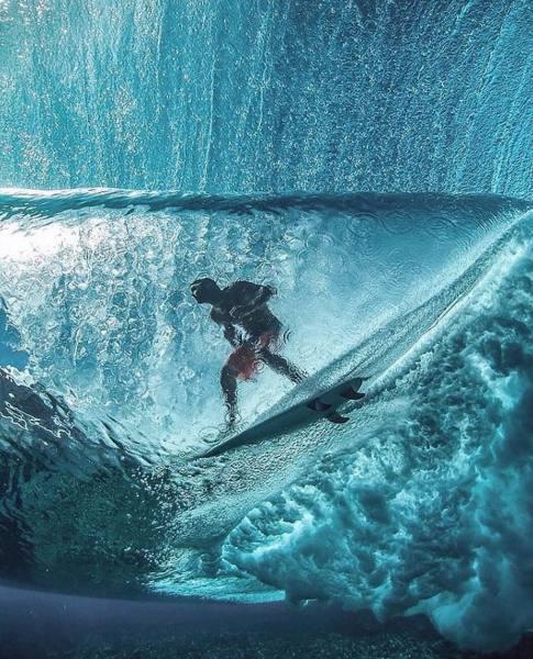 Imagen de Tubos a vista de pez | Surf AHIERRO!