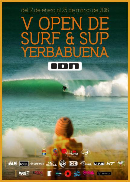Imagen de Se acerca el 5º Open de Surf la Yerbabuena | Surf AHIERRO!