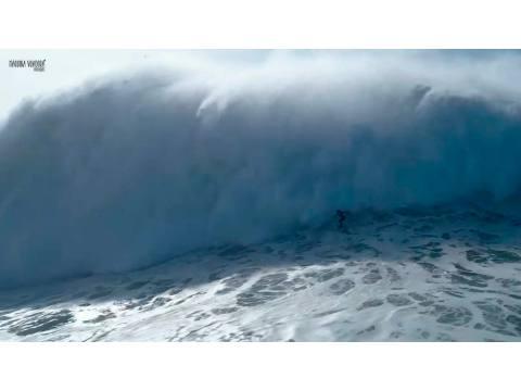 Axi Muniain en Nazaré, olón y rescate - Surf AHIERRO!