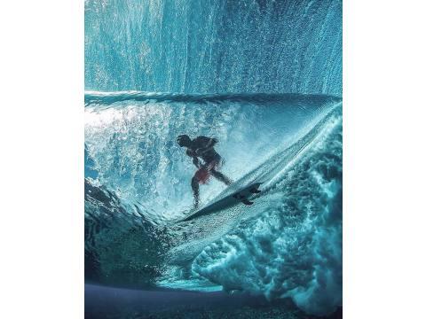 Tubos a vista de pez - Surf AHIERRO!