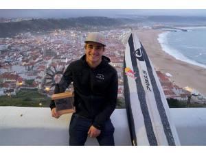 Imagen de Natxo González tercero en Nazaré - Surf AHIERRO!