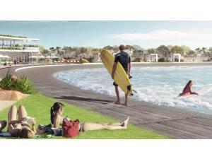 Imagen de A la piscina de Kelly le ha salido un competidor - Surf AHIERRO!