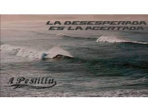 Imagen de La desesperada es la acertada - Surf AHIERRO!